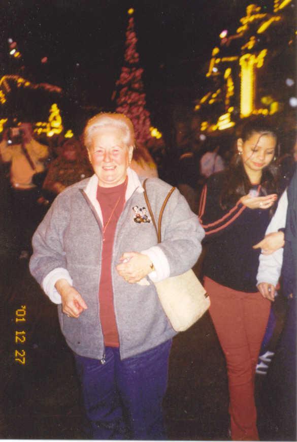Grandma Bev on Main Street